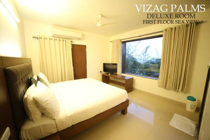 Spacious Rooms with pleasant atmosphere