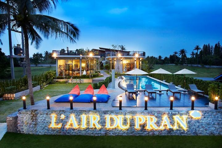 L'air Du Pran Beach Resort -  Family 3 Bedrooms F5