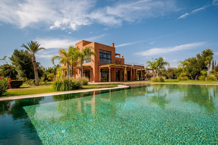 Luxury Villa - Pool & Atlas view - 20min Marrakech