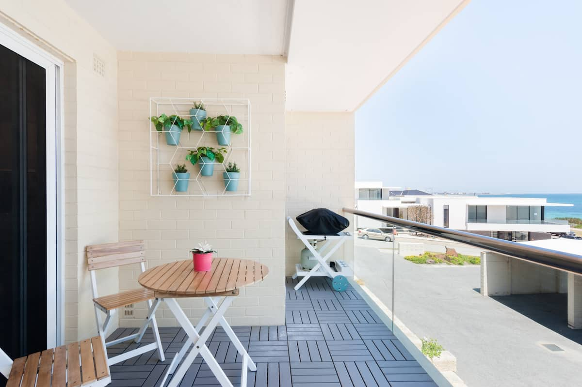 Watch the Waves from the Balcony at an Airy Cottesloe Haven