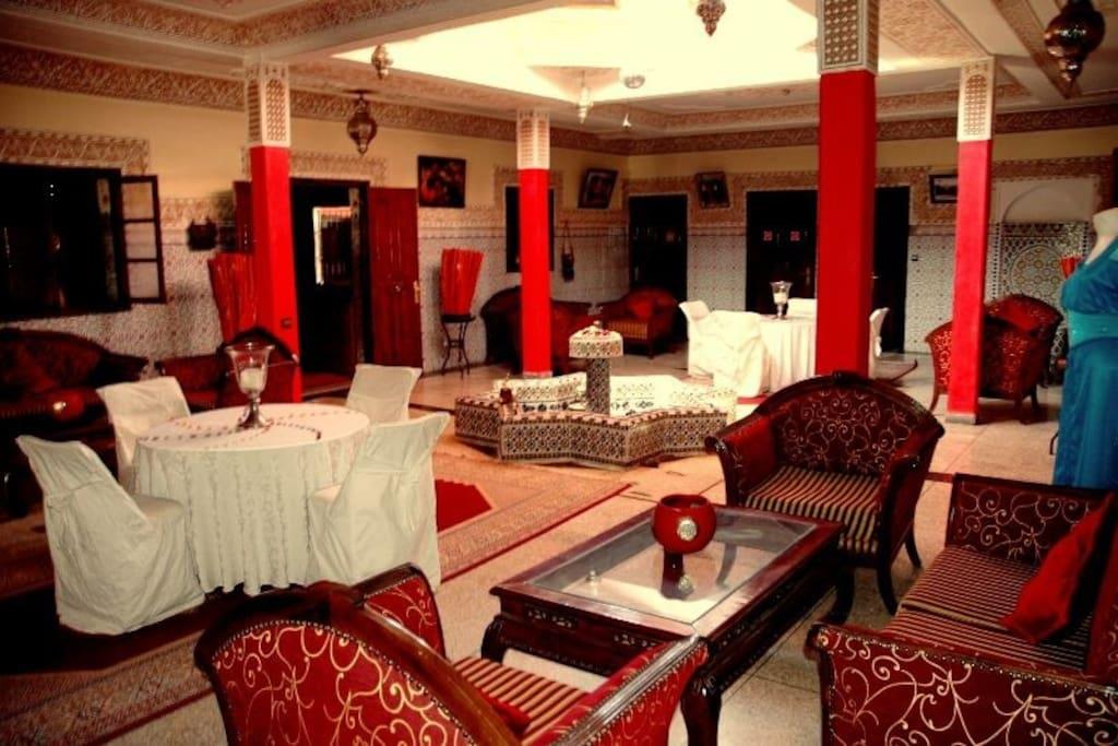 chambres dans une ferme d 39 h te chambres d 39 h tes louer marrakech marrakesh tensift al. Black Bedroom Furniture Sets. Home Design Ideas