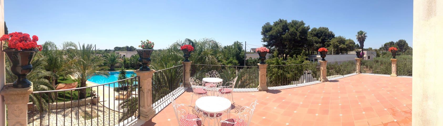 Villa Torre Bianca  Salento  Puglia - Manduria - Casa de campo
