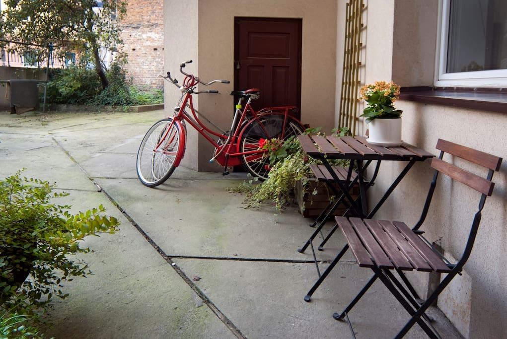 Comfort Studio + 2 bikes! Wifi