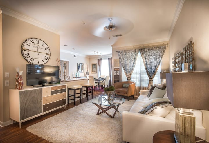 Clean apt just for you   2BR in The Woodlands
