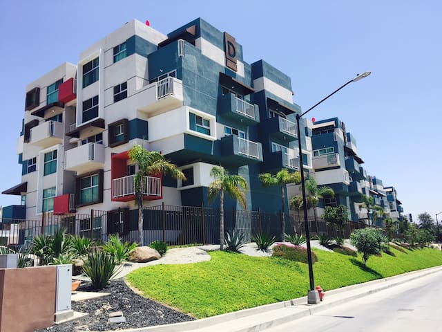 El lugar de Elvira, depto nuevo y bien ubicado - Tijuana - Appartement