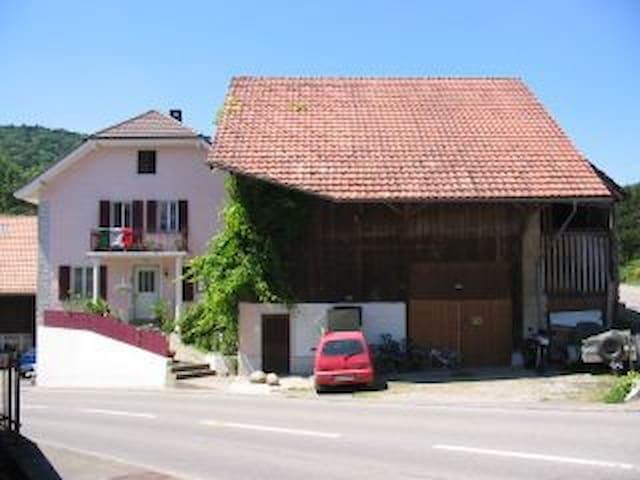 Gemütliches Studio in ruhigem Dorf - Böttstein - Apartament