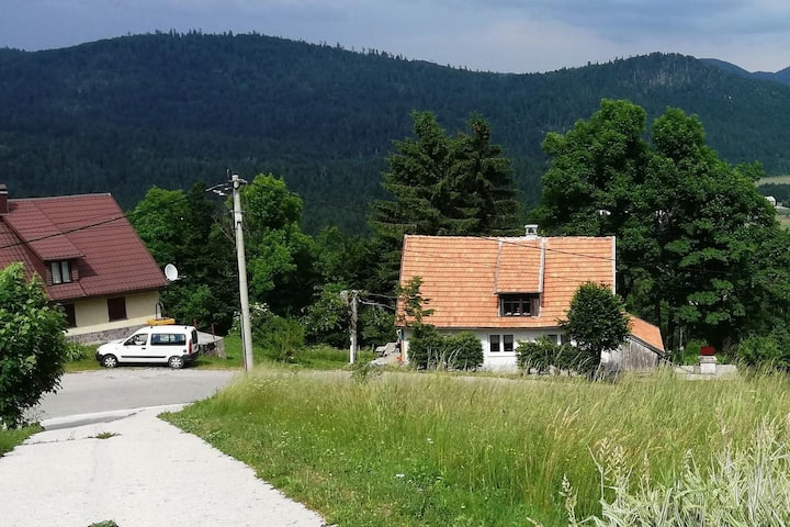 One bedroom house with terrace Brestova Draga, Gorski kotar (K-18374)