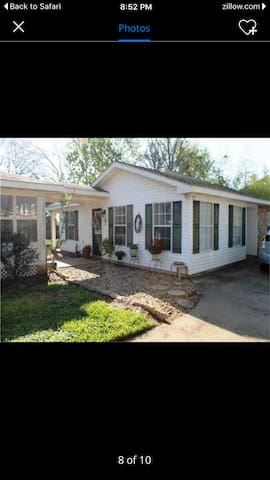 Awesome private detached 2bd/1ba - Lake Charles - Hus