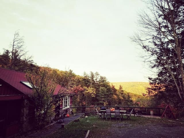 fall at the cabin - something special