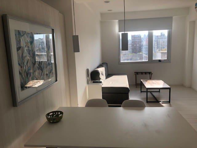 Apartamento con vista ,  apto 4 pax en Recoleta.