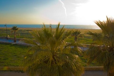 Firstline Strandwohnung in Tarifa