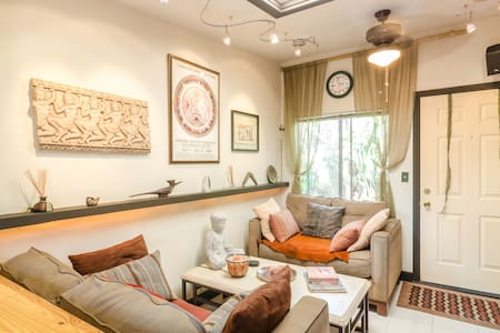 Zen Isle Ambiance +Lively Downtown. - Culver City - House