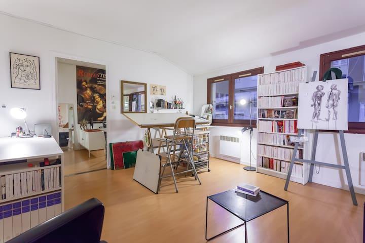 appartement pentes de la croix rousse - Lyon - Leilighet