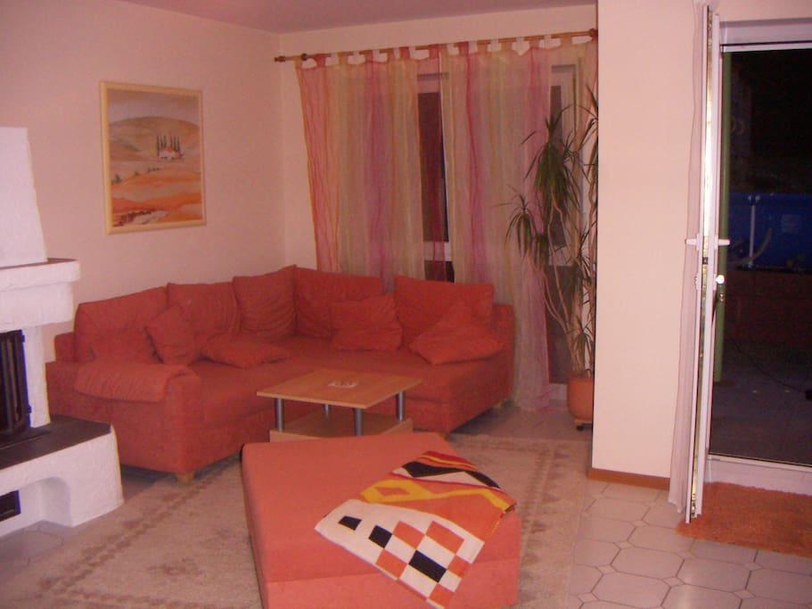 Wohnbereich mit Sofa