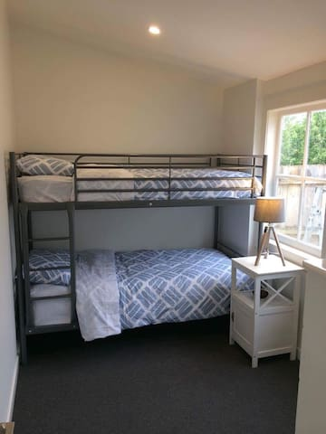 Bedroom 2- single bunk beds