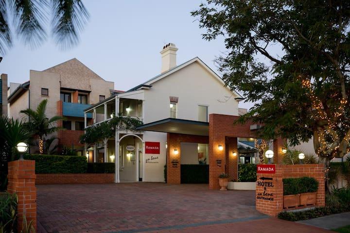 Charming Boutique 4 Star Hotel in Windsor Brisbane