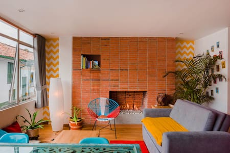 Cozy Loft Studio in La Candelaria