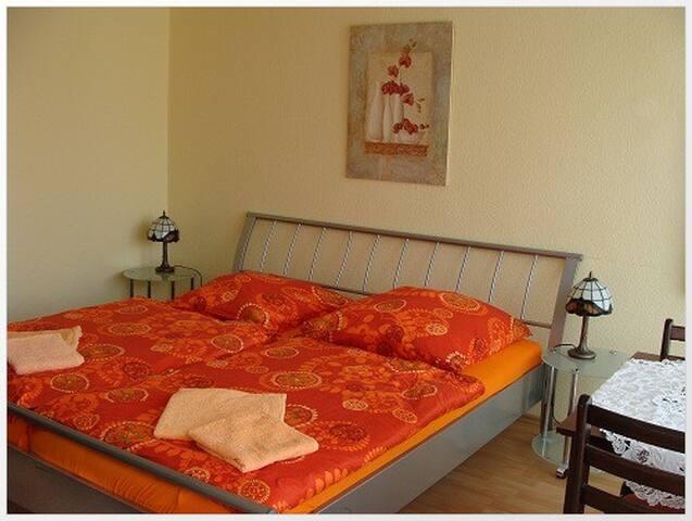Apartment als Doppelzimmer in zentraler Lage (DZ)