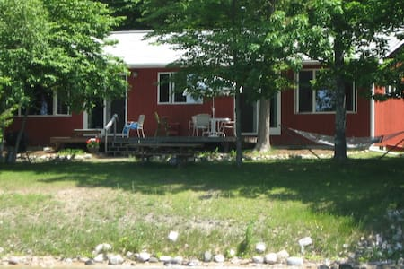 Torch Lake waterfront home - close to Bellaire MI!