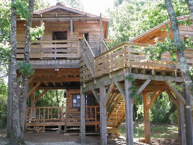 Les cabanes du Tertre - Urval - Cabaña