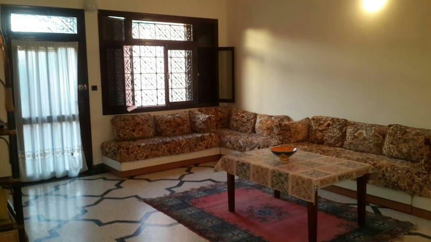 Villa meublee au bord de la mer - Sidi Rahal - Villa