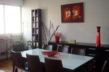 Large apartment Paris Auteuil