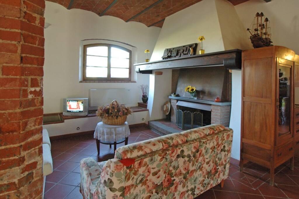 living room of TRIO apartment