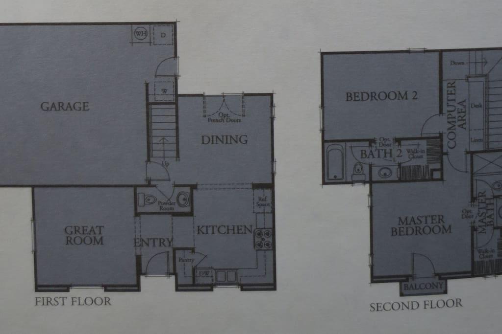 floor plan of house