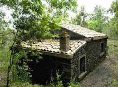 Hut in the Etna Park - Zafferana etnea - Ξυλόσπιτο
