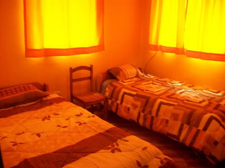 Muyu Wasi (habitación doble 1er piso)