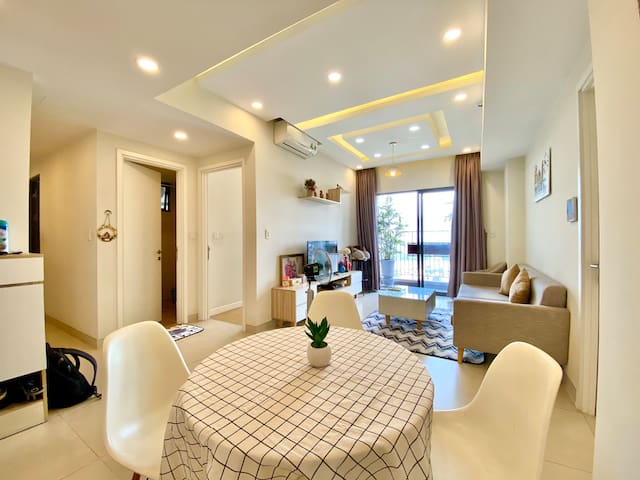 SHARED 1 COZY BR-Masteri Thao Dien - Perfect View