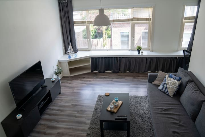 Spacy split level Apartment Tilburg