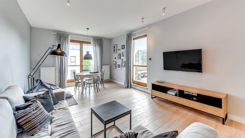 Apartament Nadmorski Dwór XVII dla 6 osób