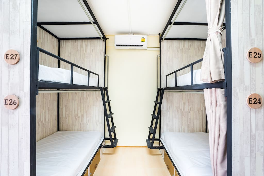 Beds facing each other -easy talking like stay at home