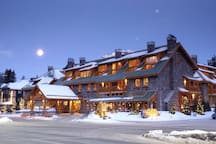 Ideally located a short walk from downtown Banff, escape to the serenity of a cozy mountain room!