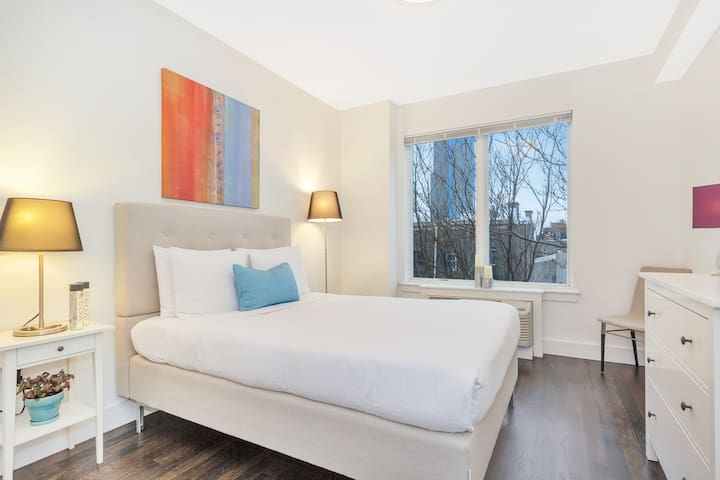Dharma | Jersey City | Comfy 1BR + Washer/Dryer