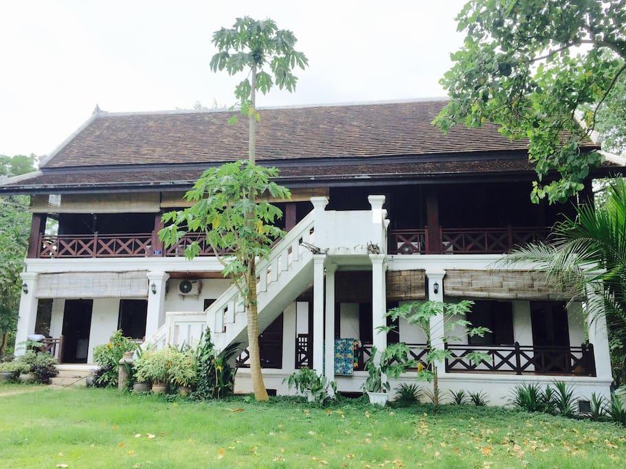 Laotian style building.