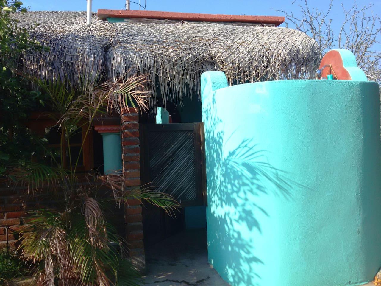 Casa Margarita Outdoor Shower