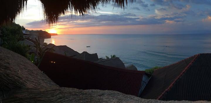 Stunning Ocean view room in Bingin