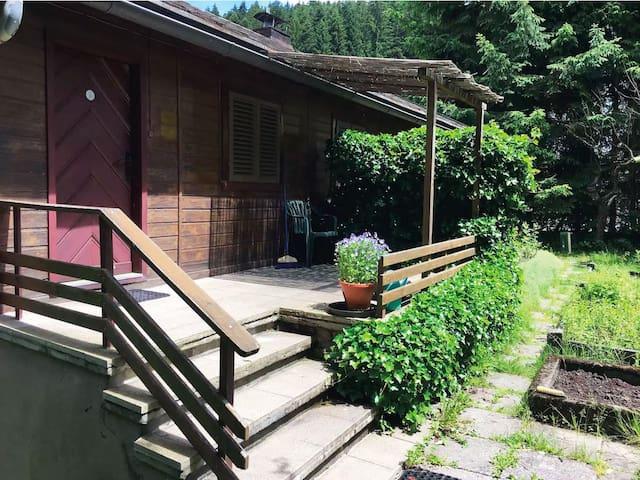 Romantisches Haus - mitten im grünen Paradies