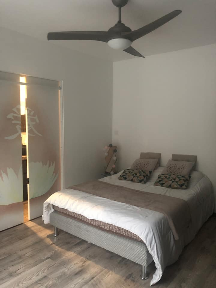 Magnifique chambre individuel dans villa agréable