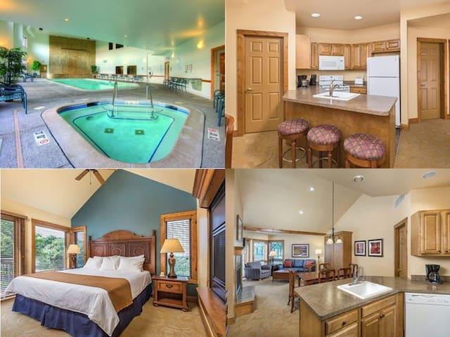 Galena 2 Bed/2 Bath Resort Condo~Pool~Hot Tub~Gym