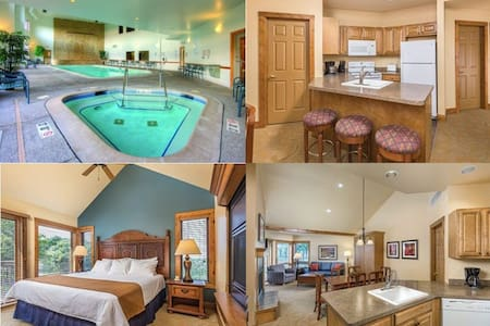 Galena 2 Bed/2 Bath Resort Condo~Pool~Hot Tub~Gym