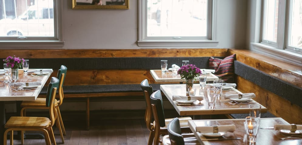 Our favorite spots in the neighborhood