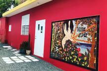 Villa Eva Entrance