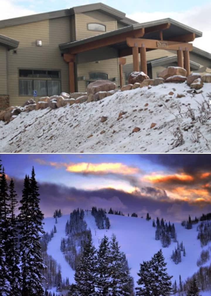 Powder Mountain Utah - Ski-in Ski-Out 2BR Condo