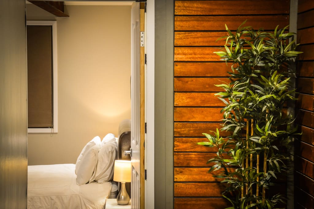 Private entry to your room.