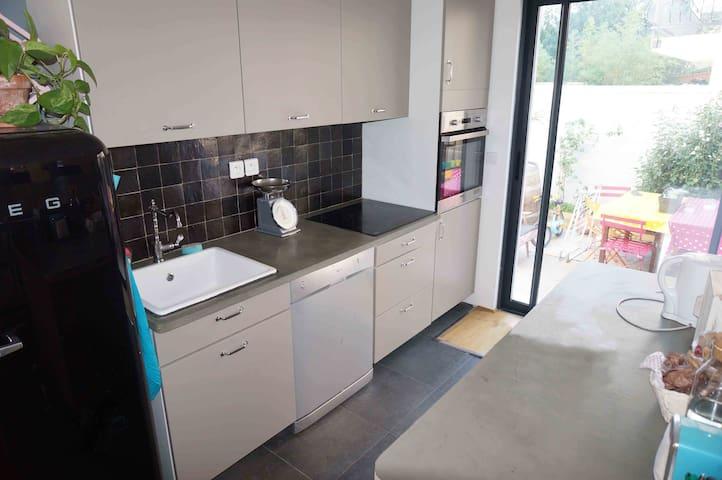 Confortable maison rénovée - Ivry-sur-Seine - Dom