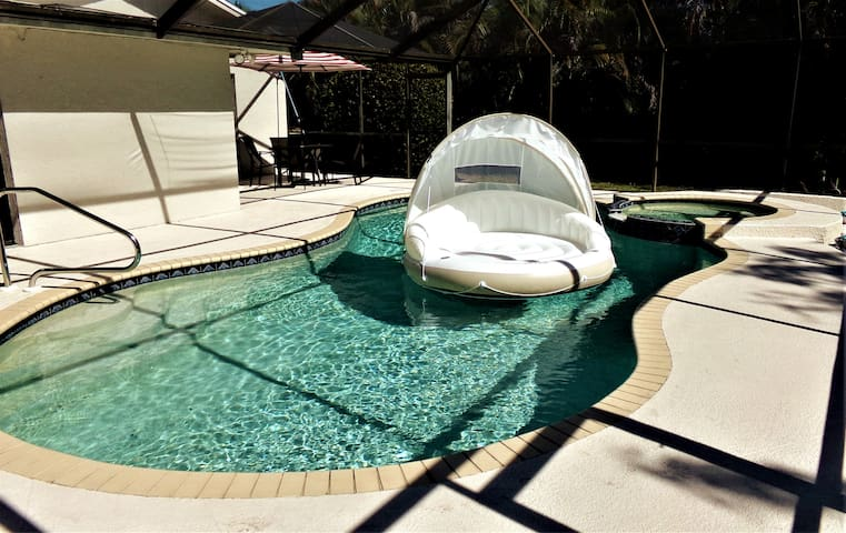 Beach Pool Oasis Awaits You in Naples FL