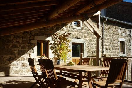 """Gite rural """" Le Val d'Ance """" - Usson-en-Forez - Haus"""